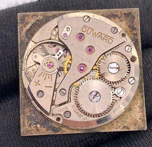 Duward-Cal-Av-426-Main-Manuel-Vintage-25-mm-Pas-Fonctionne-pour-Pieces