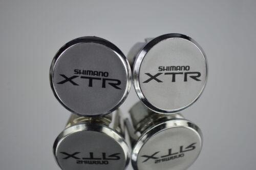 Shimano XTR m900 Handlebar End Plugs Bar Caps endstopfen lenkerstopfen