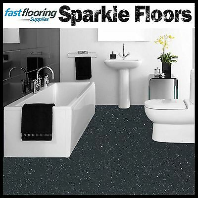 Incredible Altro Dark Grey Sparkly Bathroom Flooring Glitter Safety Flooring Wetroom Vinyl Ebay Gamerscity Chair Design For Home Gamerscityorg