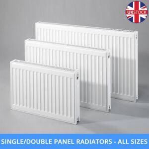 Double-Single-Panel-Convector-Compact-Central-Heating-White-Radiator-All-Sizes