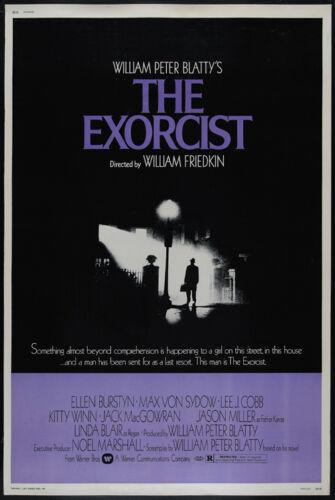 Linda Blair cult Horror movie poster print 1973 The Exorcist