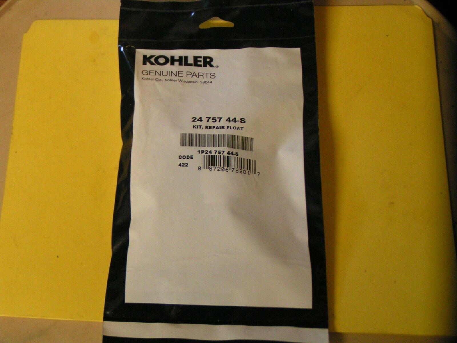 Flotador Cocheburador KOHLER Motor Kit De Reparación-parte  2475744-S - nueva pieza de servicio