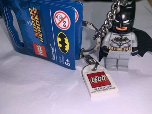 GENUINE LEGO BATMAN DC SUPERHEROES MINIFIGURE KEYRING 853951