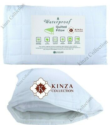 Anti-allergy Cot Bed Pillow Filling 40cmx60cm With Waterproof Quilted Protector Laatste Mode