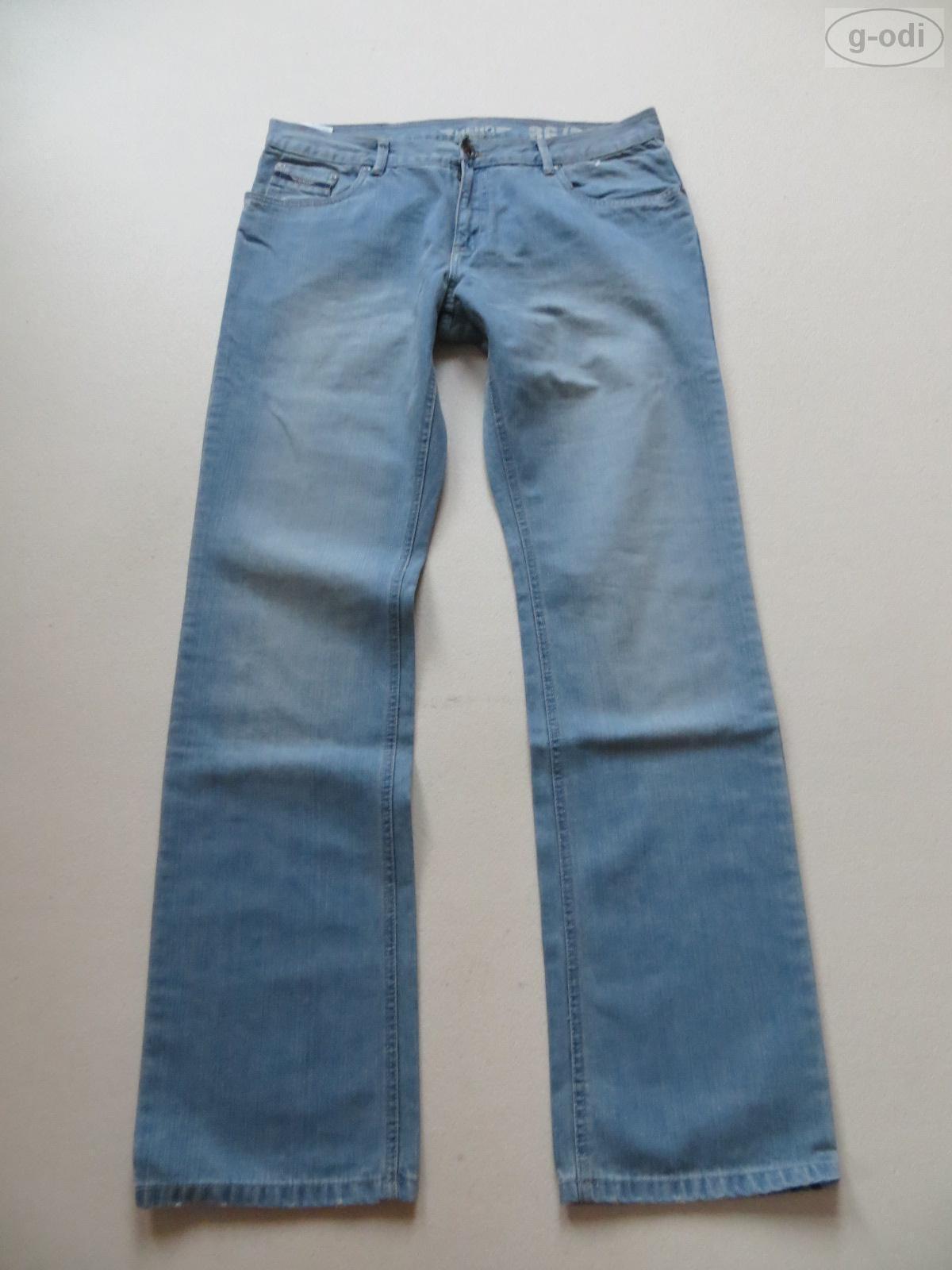 HERO by John Medoox BOSTON Jeans Hose W 34  L 32, NEU   Light wash Denim, hell
