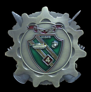 4TH-Tank-Battalion-FIRST-ROUND-ON-US-CHALLENGE-COIN-US-MARINES-PIN-UP-TANKER