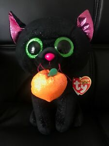 """5dfd48aa0c3 6"""" TY Beanie Boos Halloween Xmas Gifts Animals Potion Black Cat 2018 ..."""