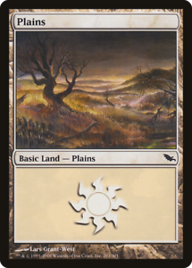 20x Shadowmoor PLAINS #283 Same Art Basic Land LP/MP MTG Magic the Gathering