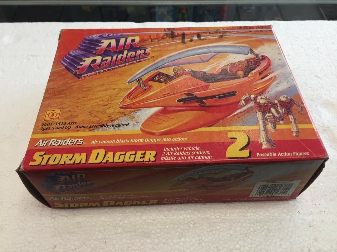 1987 Air Raiders STORM the Power is in the Air STORM Raiders DAGGER bd0da2