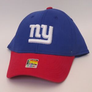 brand new 70a12 c400d Image is loading Reebok-NEW-YORK-GIANTS-One-Size-Fits-All-