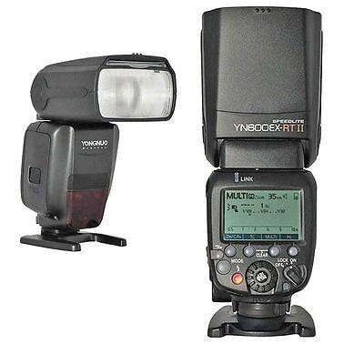 Yongnuo YN600EX-RT II Wireless Flash Speedlite - Canon 700D 650D 600D 550D 500D