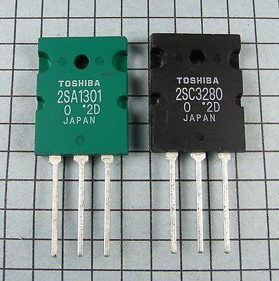 TRANSISTORS TO3PL 1Pairs 2SA1301 2SC3280 A1301 C3280