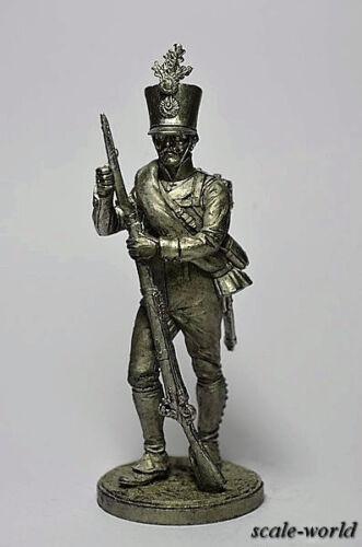 Touchmaster 54 mm Tin soldier A Fusilier 4 infantry regiment Hoch und figure