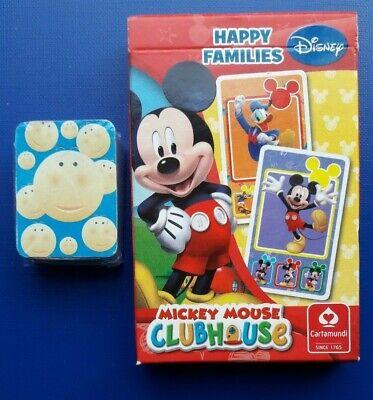 Abile Disney Happy Failies Carte Mickey Mouse Clubhouse + Pack Carte In Miniatura-mostra Il Titolo Originale