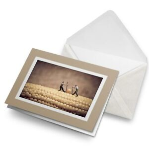 Greetings-Card-Biege-Sweet-Corn-Farming-Corn-on-the-Cob-16885
