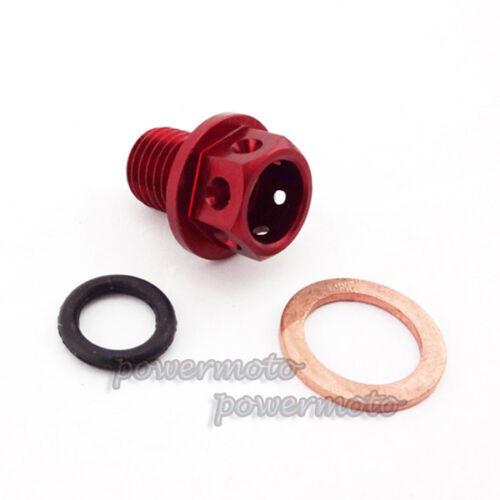 Engine Magnetic Oil Drain Plug Bolt Nut Screw Chinese Pit Dirt Monkey ATV Bike