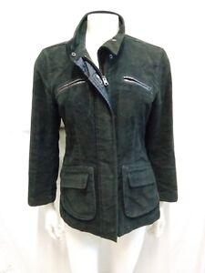 cheap for discount 3c270 94b38 Dettagli su giacca giubbotto donna Fay fustagno taglia S