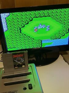 100-WORKING-NINTENDO-NES-SUPER-RARE-RPG-GAME-Cartridge-Manual-FINAL-FANTASY