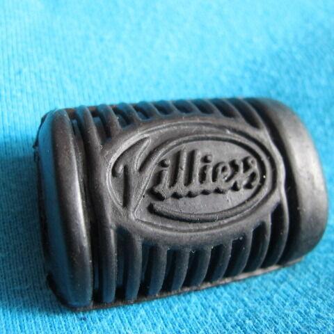 VILLIERS Logo Levier De Vitesses Caoutchouc James GREEVES Francis Barnett gear change en caoutchouc
