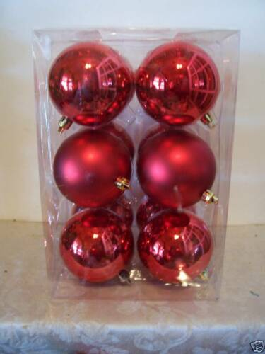 12 RED VALENTINES CHRISTMAS ORNAMENT DECORATION HOLIDAY