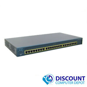 Cisco-WS-C2950T-24-Catalyst-24-Port-10-100-Fast-Ethernet-Network-Switch-TESTED