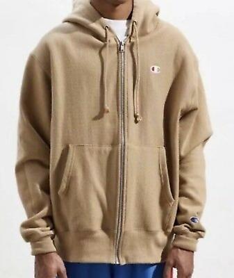 tan champion hoodie