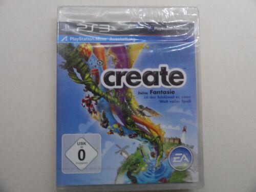 1 von 1 - CREATE  (PS3)  NEU OVP DEUTSCH***