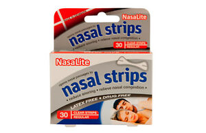 NASALITE-disposable-nasal-strips-30s-REDUCE-SNORING-amp-RELIEVE-NASAL-CONGESTION