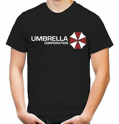 Stetig Herren T-shirt Umbrella Corporation Größe Bis 5xl