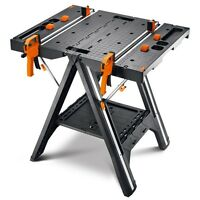 WORX Pegasus Folding Work Table & Sawhorse WX051 Refurb
