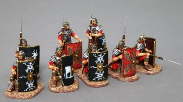 THOMAS GUNN ROMAN EMPIRE ROM014A LEGIONNAIRE PILUM LOWERED RED SHIELD MIB