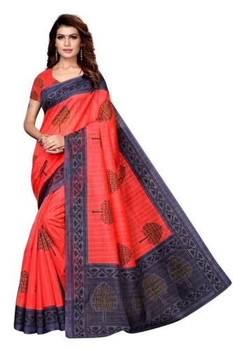Designer Cotton Silk Saree Indian Wear Pakistani Bollywood Kanjivaram Sari SC