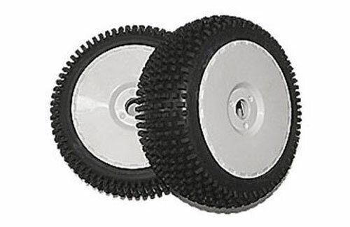 DHK Optimus 2pcs White Rims Z-DHK8381-722 Tyre /& Wheel Assembly
