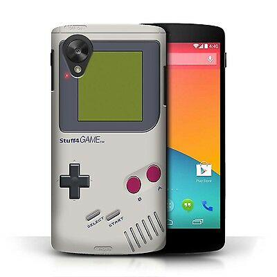 STUFF4 Case/Cover for LG Google Nexus 5/D821/Games Console/Nintendo Game Boy