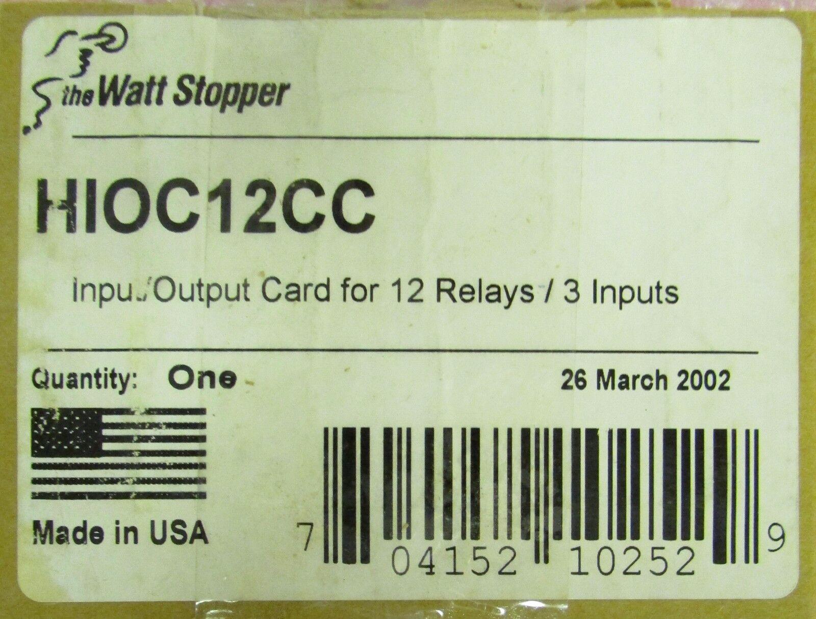 REPLACES GE RRDC12 WATTSTOPPER  HIOC12CC RELAY DRIVER BOARD