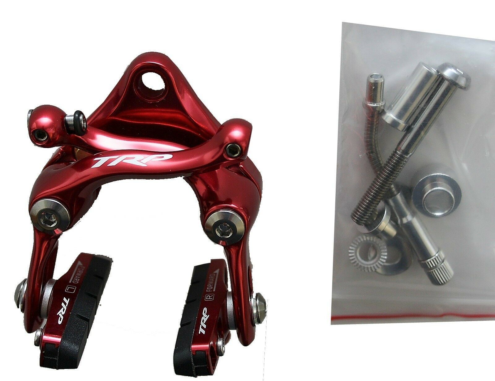 TRP t925 brems-Set Red for  front and rear with hardware Titan  up to 60% off