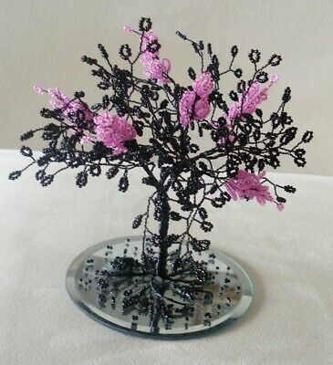 "/""Basket of Flowers/"" Kit makes 1 Ornament Bead /& Sequin   3/"" tall"