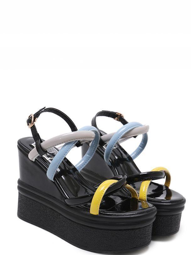 Sandalias Elegantes bajo Hauschaussures noir 12cm argentforma Cómodo Piel