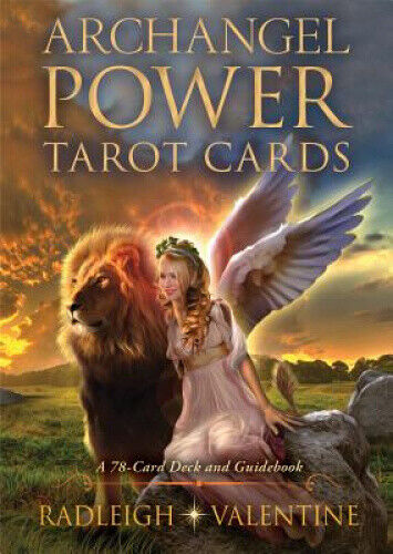 Archangel Power Tarot Cards: A 78-Card Deck and Guidebook by Radleigh Valentine