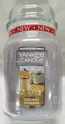 Yankee Candle WILD MINT Large Jar 22 Oz Green Housewarmer New Wax