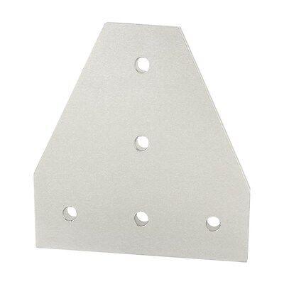80//20 Inc T-Slot Aluminum 8 Hole Tee Flat Plate 45 Series #45-4355 N