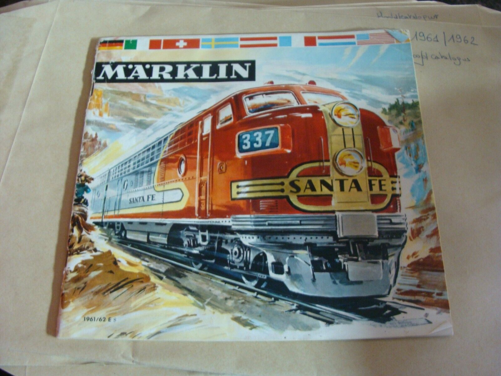 Märklin Catalogue 1961 62 E   - - - English - color