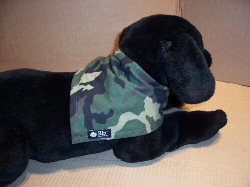 Puppy Bandana or Baby Drool Bib Bazzle Baby Brand Green Camo Small Breed Dog