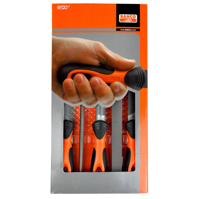 5 Piece Vallorbe Engineers File Set 8 Inch Swiss Files