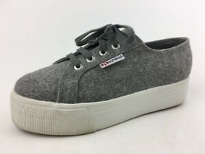 Superga Unisex Wool S00CS40 Grey