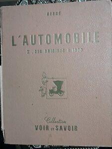 Herge-automobile-des-origines-a-1900-complet-1953