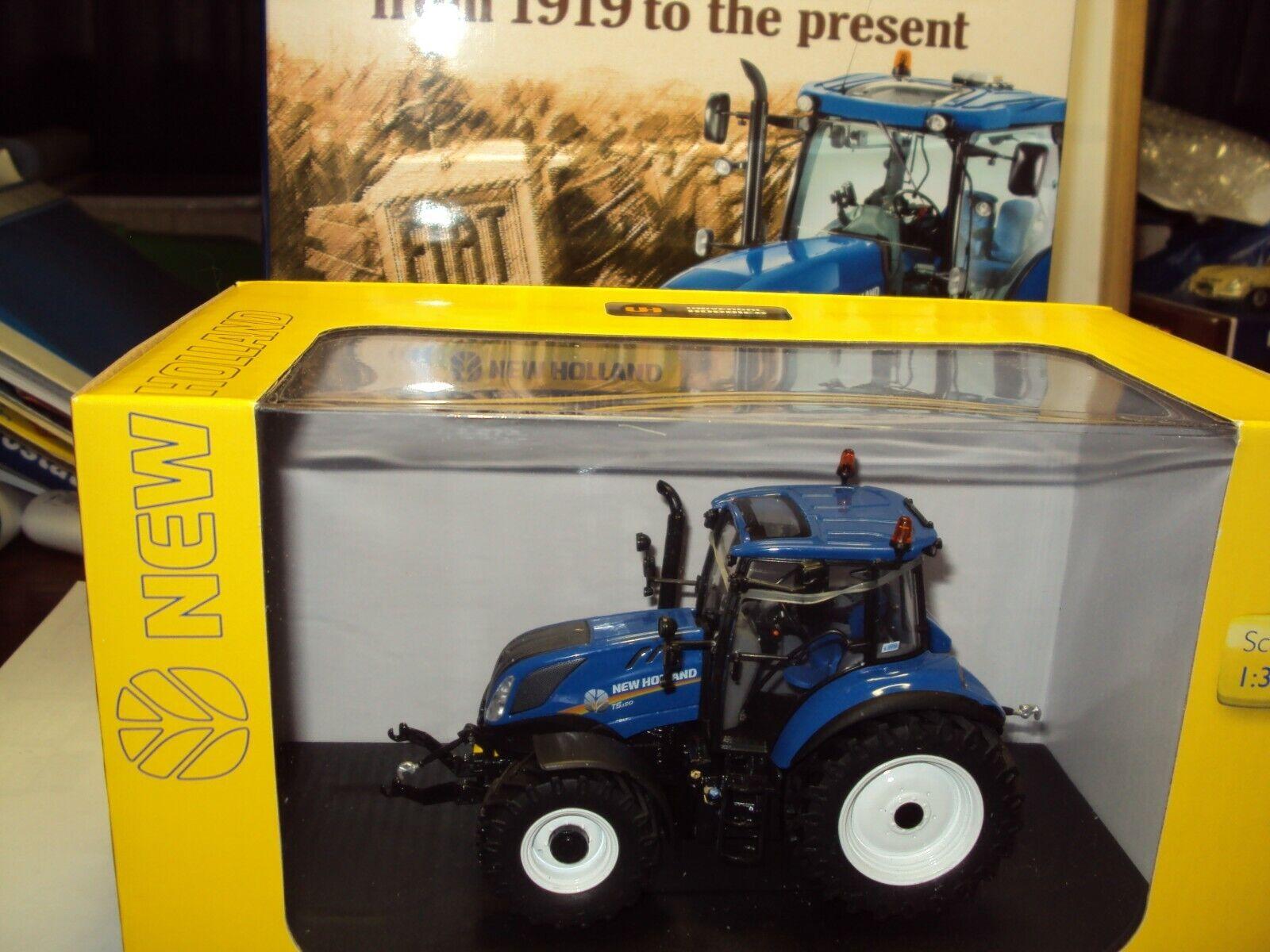Livre FIAT tracteurs 1919-Present & UH4957 1 32 T5.120 New Holland Tracteur Modèle