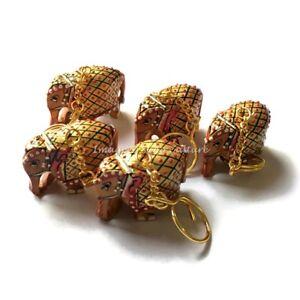 Indian-Handmade-Womens-Designer-Keychains-Cotton-Bohemian-Wholesale-Keyrings