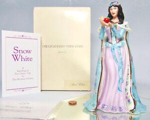 Nuevo-Lenox-Legendary-Princesas-Disney-Blancanieves-Estatuilla-de-Apple-Flores