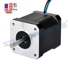 09deg Nema 17 Stepper Motor 2a 46ncm651ozin 48mm 4 Wire Diy Cnc 3d Printer